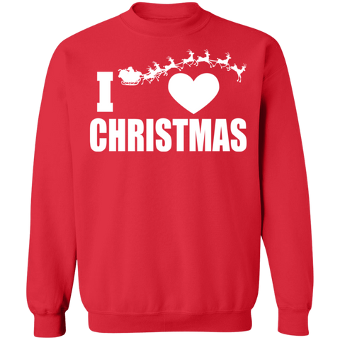 Image of I Heart Christmas Ugly Xmas Sweater