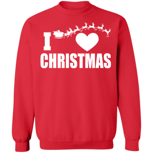 I Heart Christmas Ugly Xmas Sweater