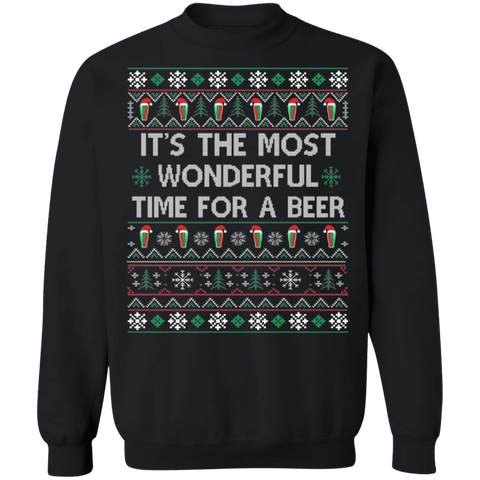 Image of Most Wonderful time for a Beer Ugly Xmas Sweater