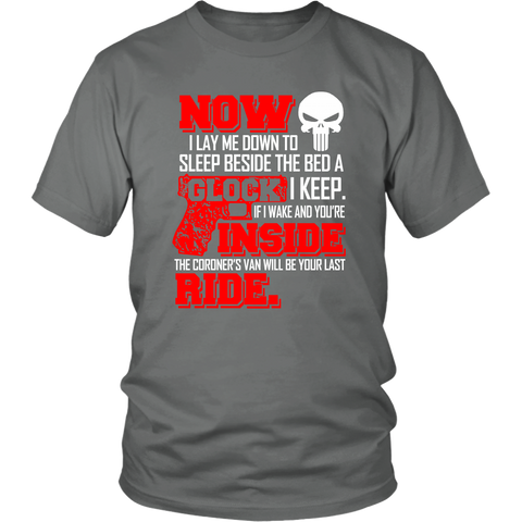 Image of Now I Lay me down to sleep shirt