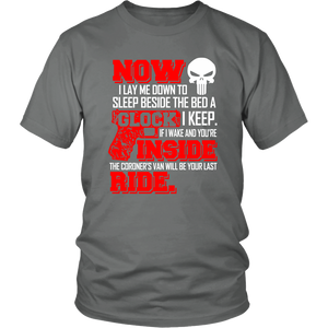 Now I Lay me down to sleep shirt