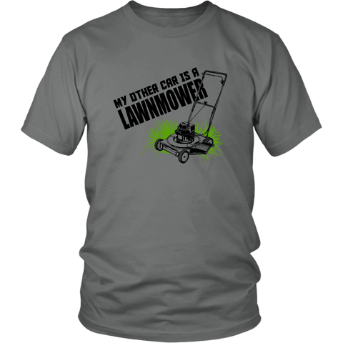 Image of My other car is a Lawnmower shirt