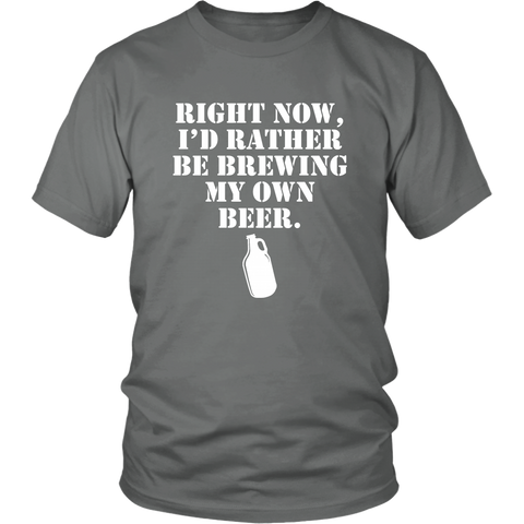 Image of I'd rather be brewing my own beer