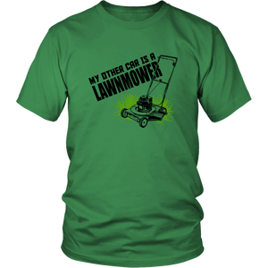 My other car is a Lawnmower shirt