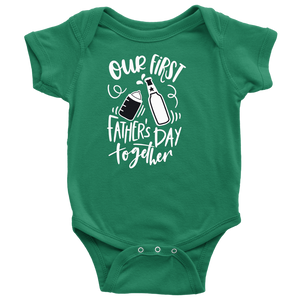 Our First Father's Day Together Baby Bodysuit