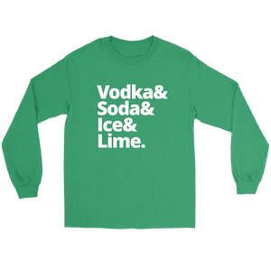 Vodka & Soda & Ice & Lime