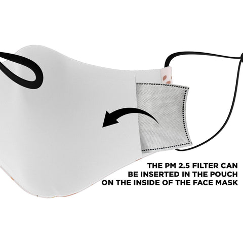 "Image of The ""Astrid"" Custom Printed Face Mask"