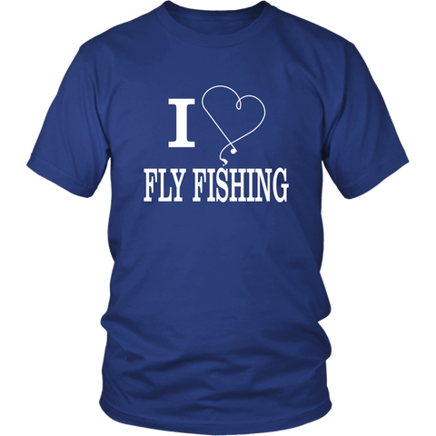 Image of I Love Fly Fishing shirt