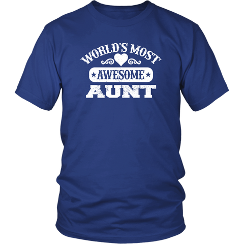 Image of World's Most Awesome Aunt