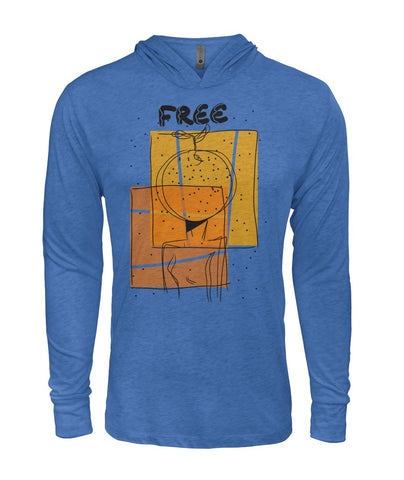 "Image of ""Free""  Hooded Long Sleeve"