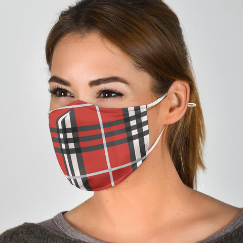 "Image of The ""Cassandra"" Custom Printed Face Mask"