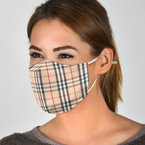 "The ""Elizabeth"" Custom Printed Face Mask"