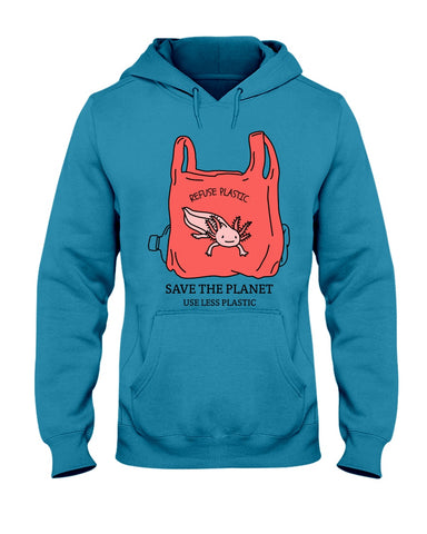 Save the Planet - Axolotl Hoodie
