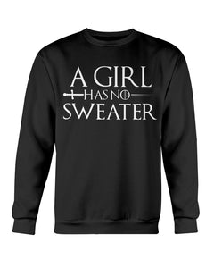 A Girl Has No Sweater Ugly Xmas Sweater