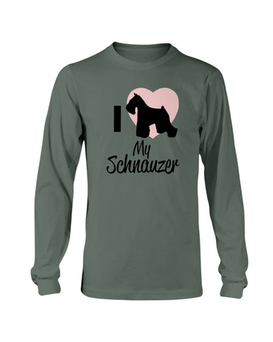Image of I love my Schnauzer sweatshirt