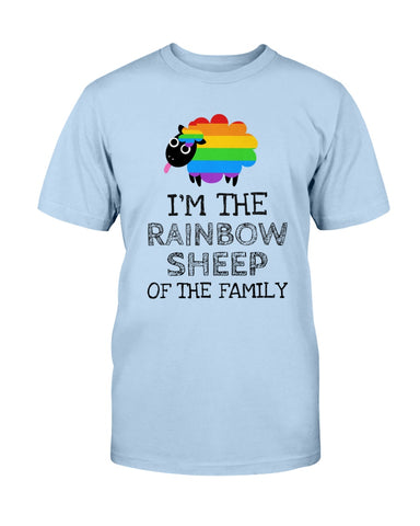 Rainbow Sheep of the Family Unisex Tee
