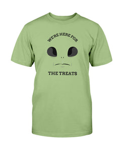 Were here for the treats T shirt