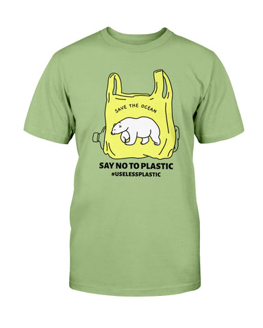 Image of Save the Ocean - Polar Bear T shirt