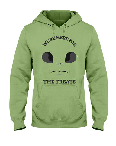 Image of Were Here for the Treats Hoodie