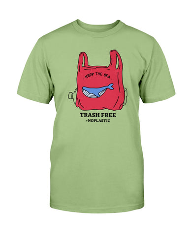 Image of Keep the Sea Trash Free T shirt