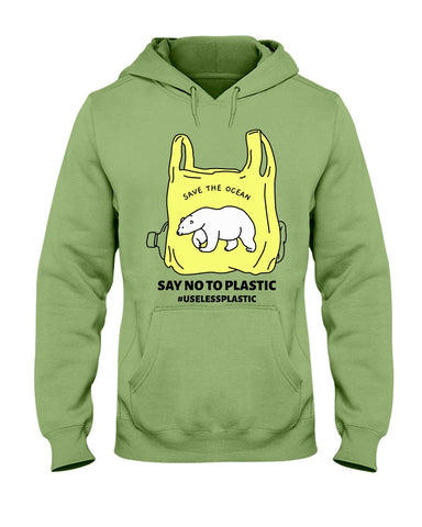 Image of Save the Ocean - Polar Bear Hoodie