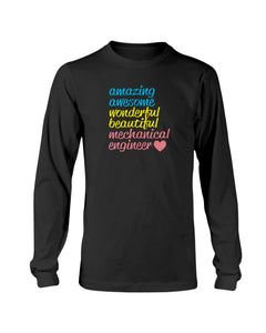 Mechanical Engineer love sweatshirt