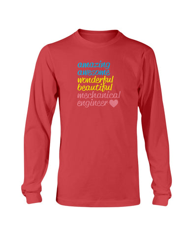Image of Mechanical Engineer love sweatshirt