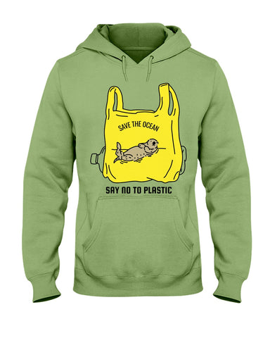 Save the Ocean - Otter Hoodie