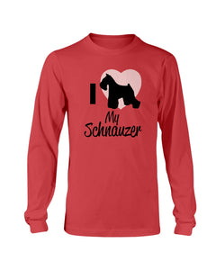 I love my Schnauzer sweatshirt