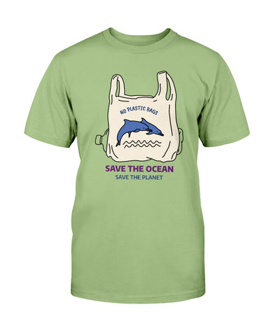 Image of Save the Ocean Dolphins T shirt
