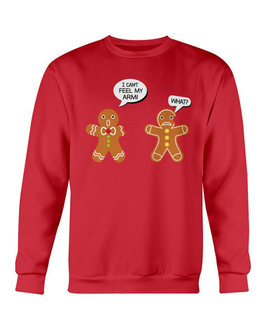 Image of Gingerbread cookie Ugly Xmas Sweater