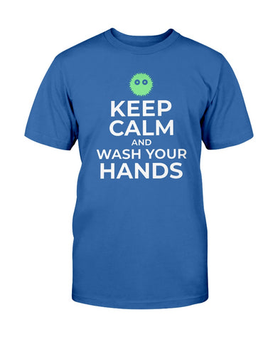 Image of Keep Calm and Wash Your Hands T-shirt
