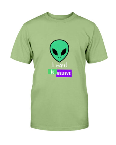 Image of I want to believe T shirt