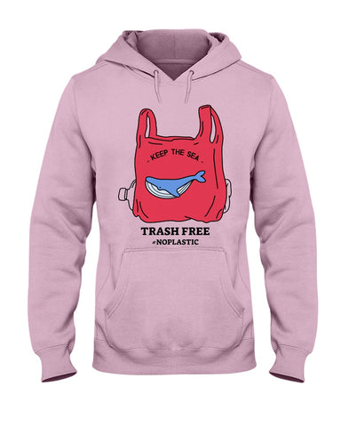 Image of Keep the Sea Trash Free Hoodie