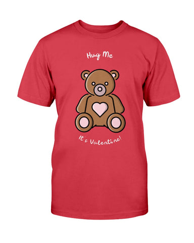 Image of Hug Me It's Valentine's Tshirt