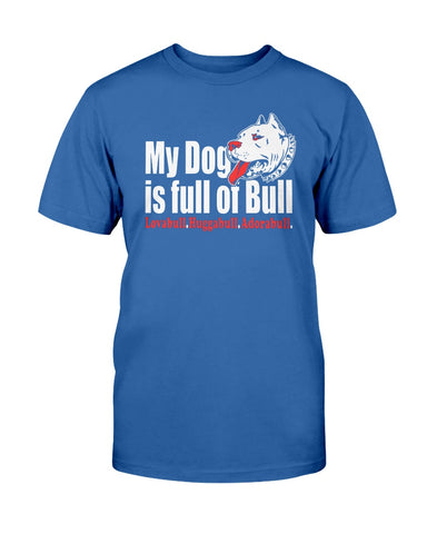 Pitbull - My dog is full of bull tshirt
