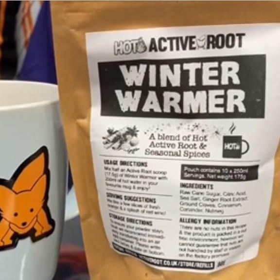 Refill Bag of Hot Winter Warmer - 24x servings - Active Root