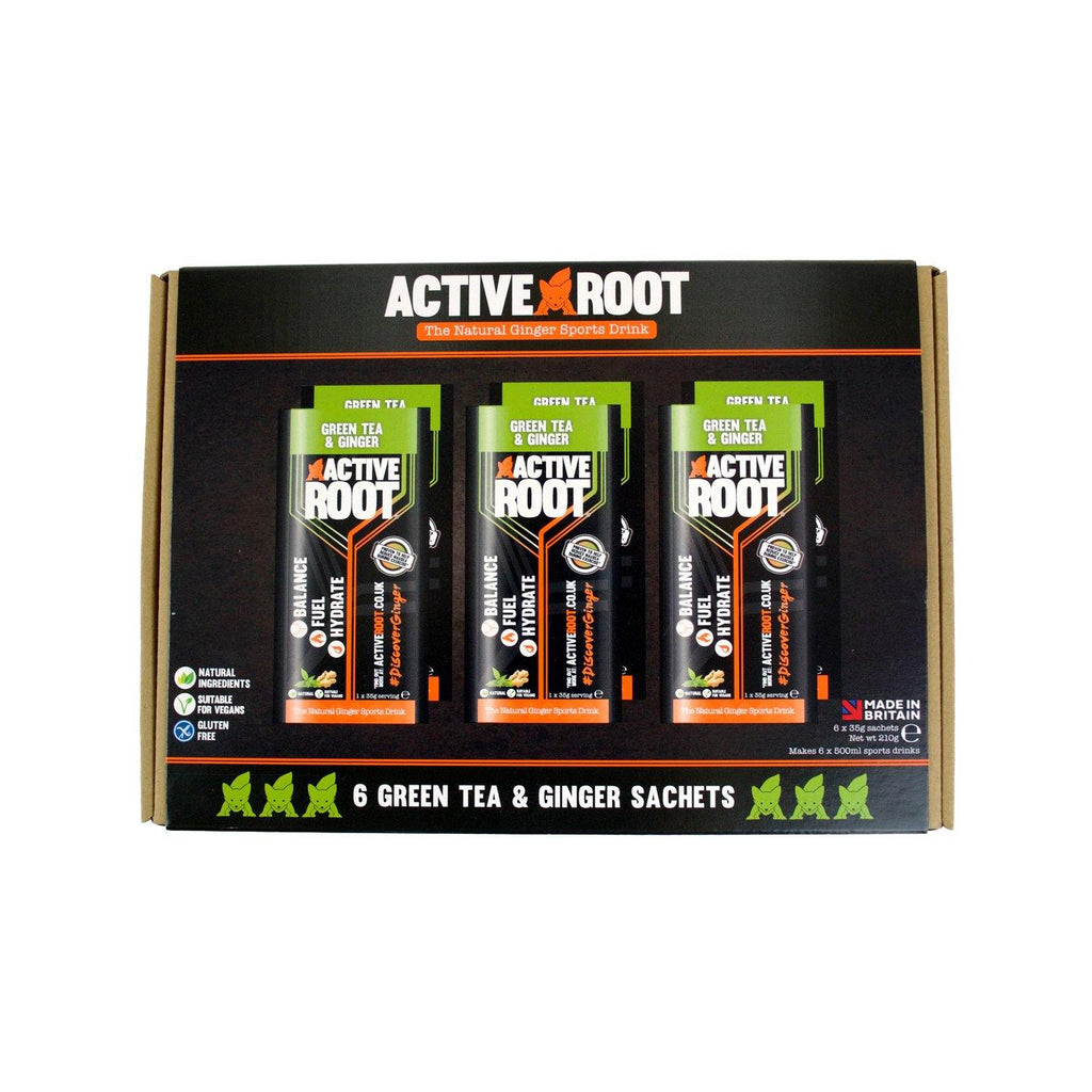 Active Root Green Tea and Ginger 6 Sachet Pack