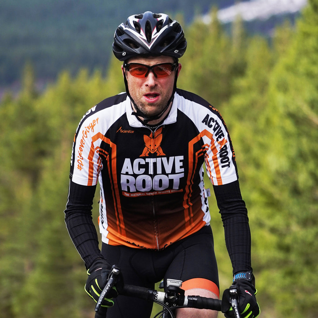 Men's Active Root Cycling Jersey
