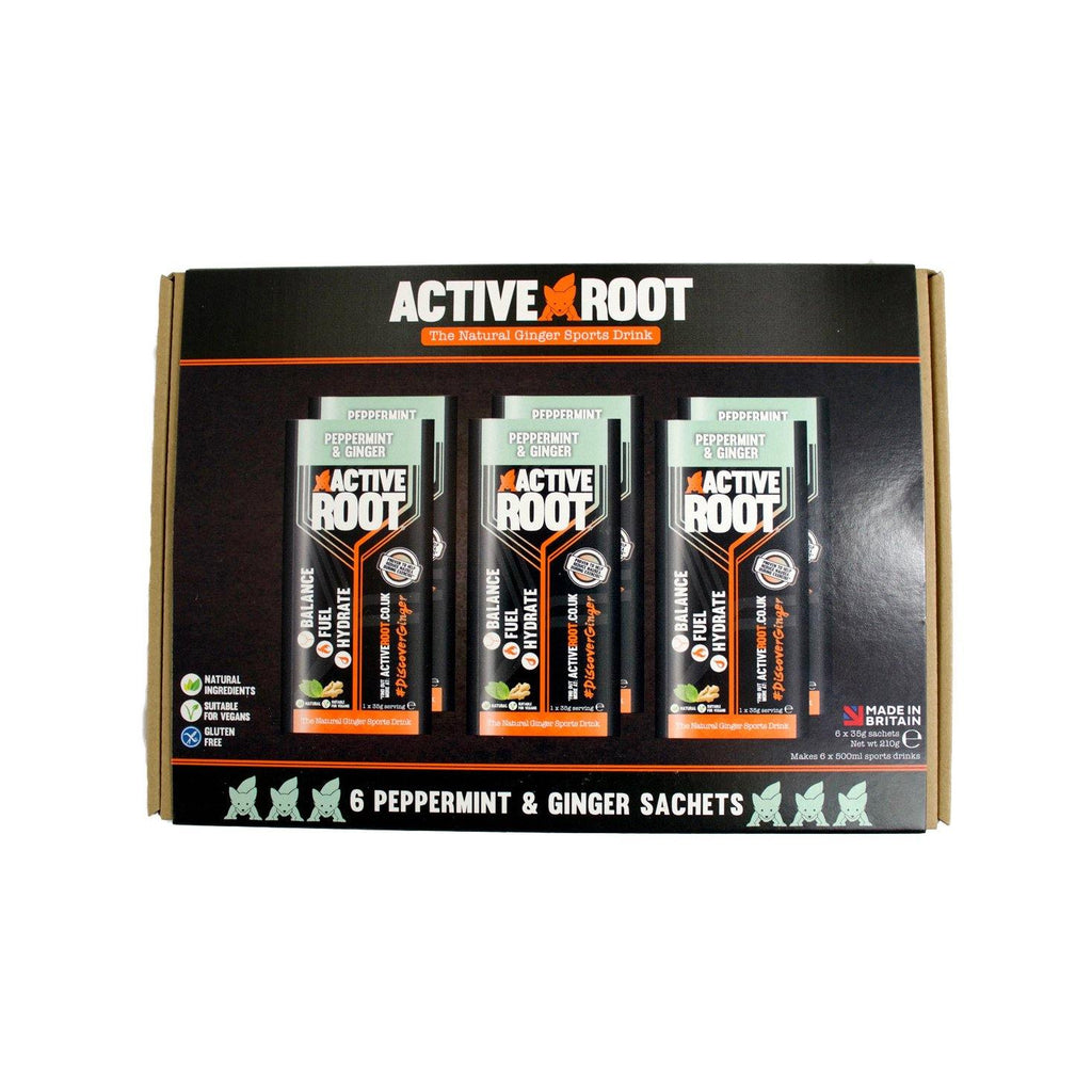 Active Root Peppermint and Ginger 6 Pack Sachets