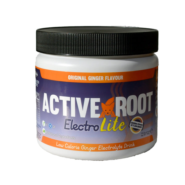 Active Root Electrolite Low Cal Ginger Tub