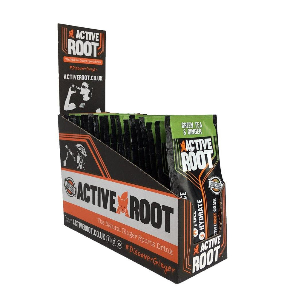 Active Root Green Tea and Ginger Sachets