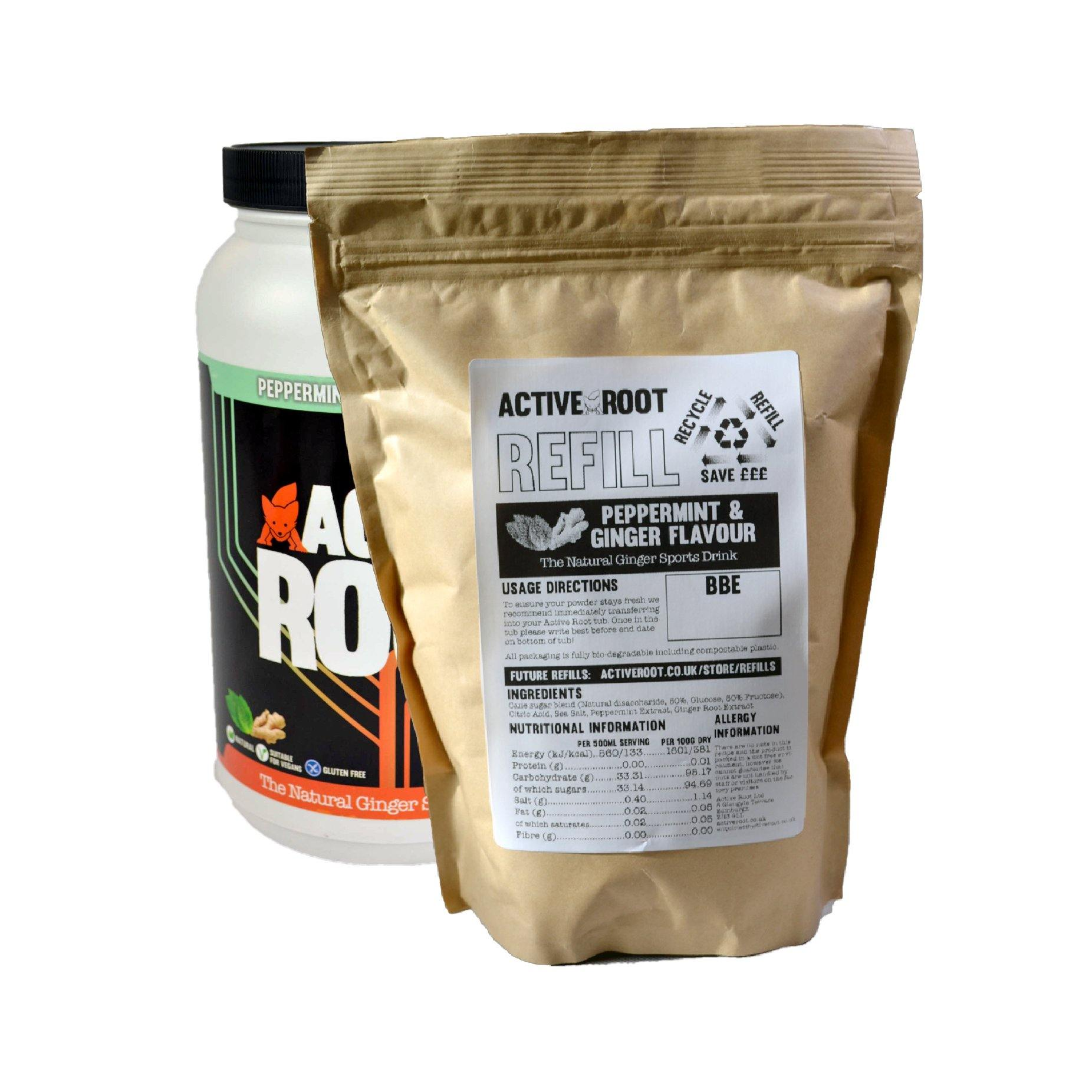 Active Root Tub Refill Peppermint