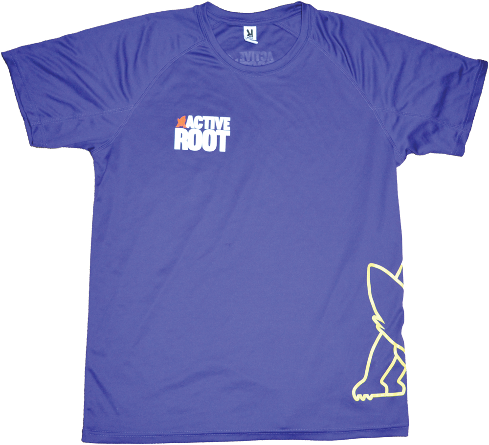 Active Root Front Purple T-shirt