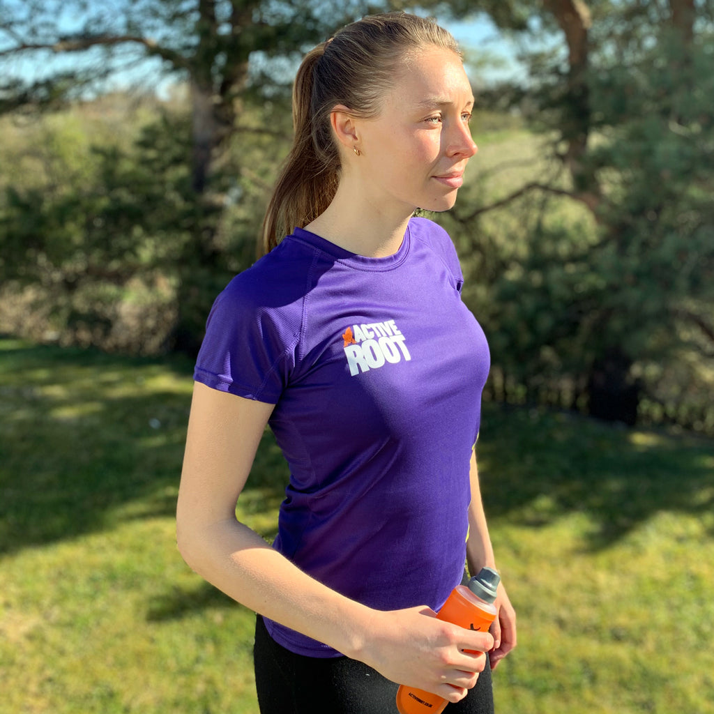 Women's Active Root Purple T-Shirt