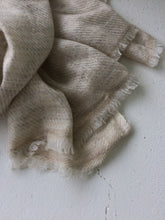Load image into Gallery viewer, Cashmere Scarf Oyster