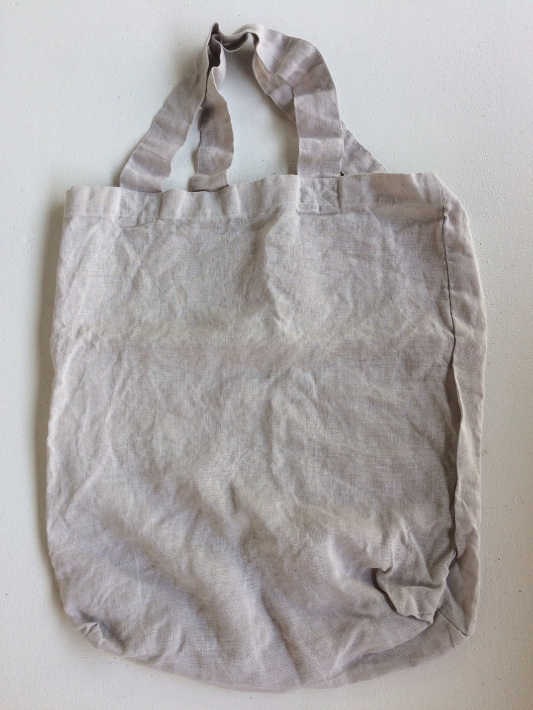Tallows Linen Tote Bag - French Grey Colour