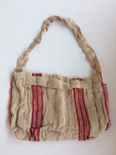 Load image into Gallery viewer, Newrybar Jute Market Bag - French Red Stripe