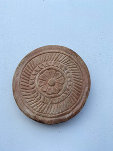 Tray - Timber Carved Chapati Plate #6