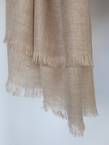 Suffolk Scarf - Wheat Colour